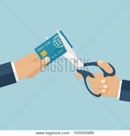 Cutting Credit Card.