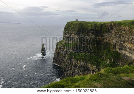 The beautiful Cliffs of Moher, County Clare, Ireland, Europe