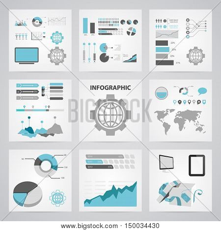 Illustration Of  World Icon In Pattern Style Isolated On Background. Stock Vector Illustration.