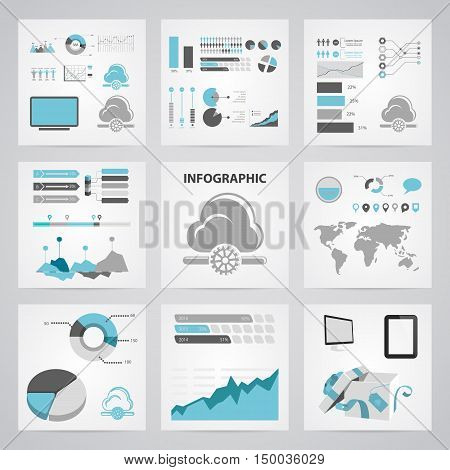 Illustration Of Cloud  Icon In Pattern Style Isolated On Background. Stock Vector Illustration.