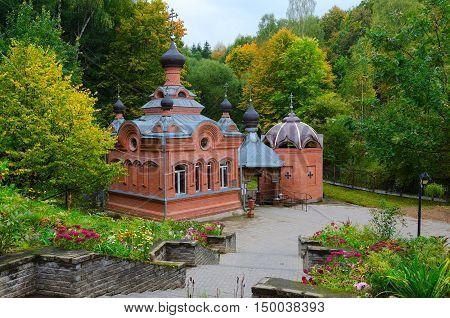 Church-Chapel of Holy Great Martyr Paraskeva Polykovichskaya Krynica Mogilev district Belarus