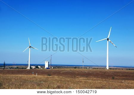 Windmill Wind Turbine Renewable Green Energy Source
