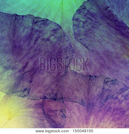 Floral art grunge batik background. Stylization of pastel colors watercolors. Vintage textured backdrop with pink red yellow gold blots. Pattern for scrapbook cushion plaid cloth shawl bandanna