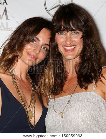 LOS ANGELES - SEP 30:  Natalie Taormina, Jennifer Mellon at the catalina Film Festival - Friday at the Casino on September 30, 2016 in Avalon, catalina Island, CA
