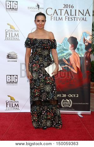 LOS ANGELES - OCT 1:  catalina Sandino Moreno at the catalina Film Festival - Saturday at the Casino on October 1, 2016 in Avalon, catalina Island, CA