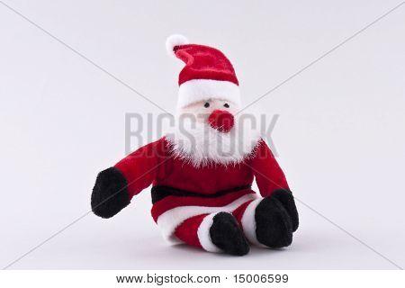 Santa Claus Sitting Side