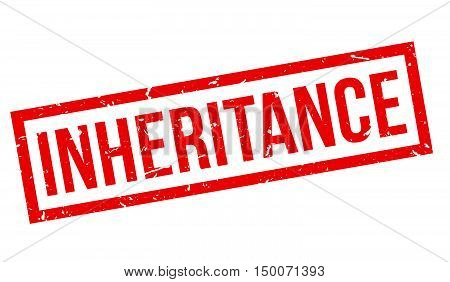 Inheritance Rubber Stamp