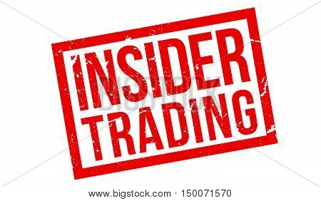 Insider Trading Rubber Stamp