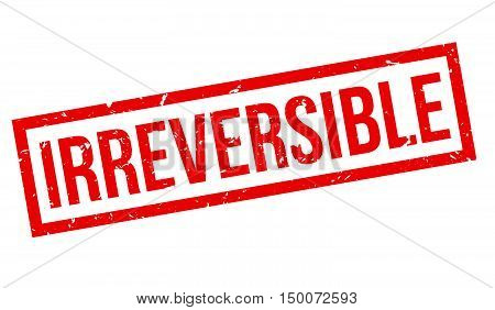 Irreversible Rubber Stamp