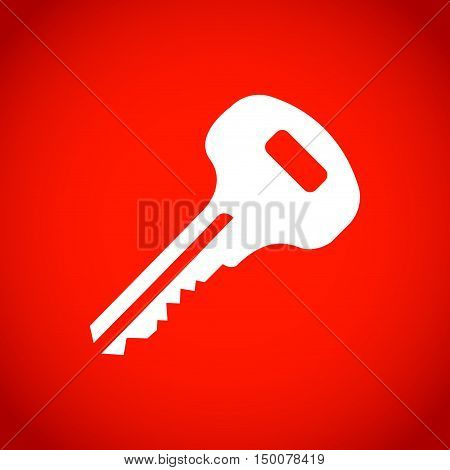 key icon stock vector illustration flat design