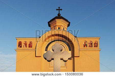 Orthodox church in Arad, Romania, Europe