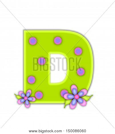 Alphabet Big Dot D