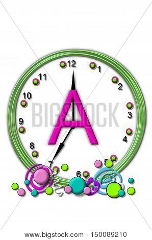 Alphabet Timeless A