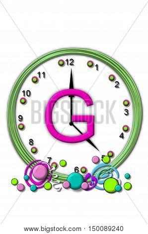 Alphabet Timeless G