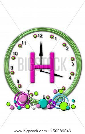 Alphabet Timeless H