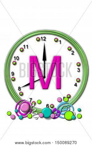 Alphabet Timeless M