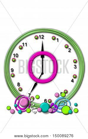 Alphabet Timeless O