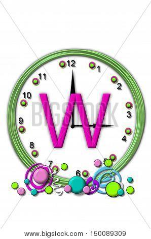 Alphabet Timeless W