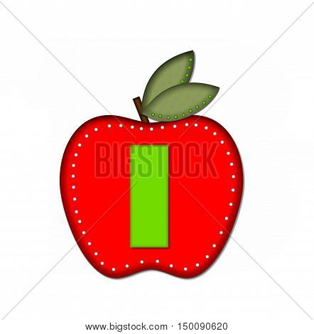 Alphabet Delicious Apple I
