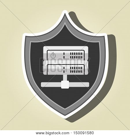 symbol data base technology vector illustration eps 10