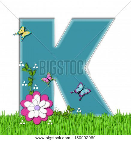 Alphabet Happy Springtime K