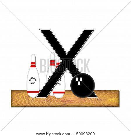 Alphabet Bowling X