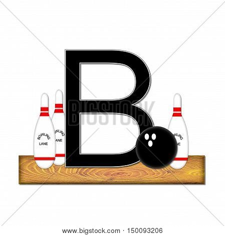Alphabet Bowling B