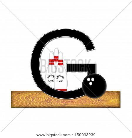 Alphabet Bowling G
