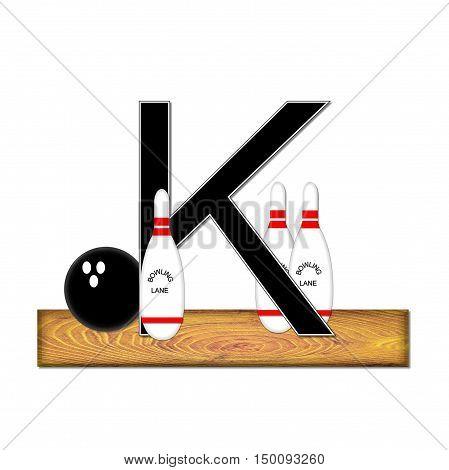Alphabet Bowling K