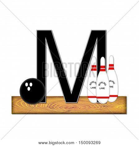 Alphabet Bowling M