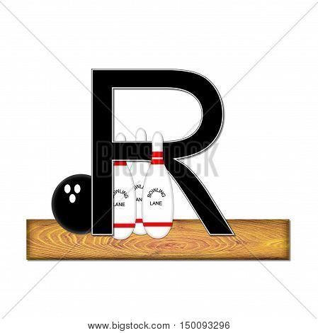 Alphabet Bowling R