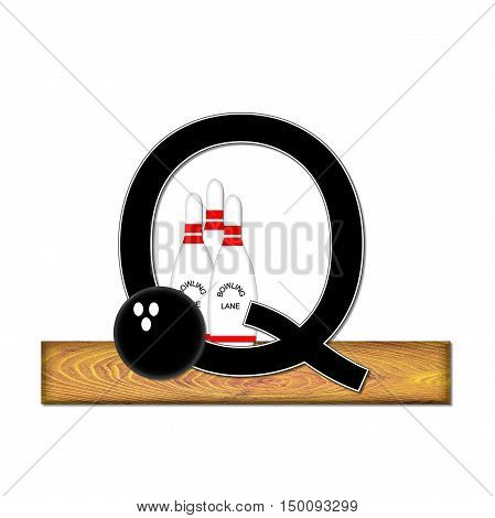 Alphabet Bowling Q