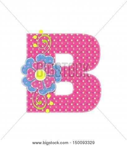 Alphabet Bonita B