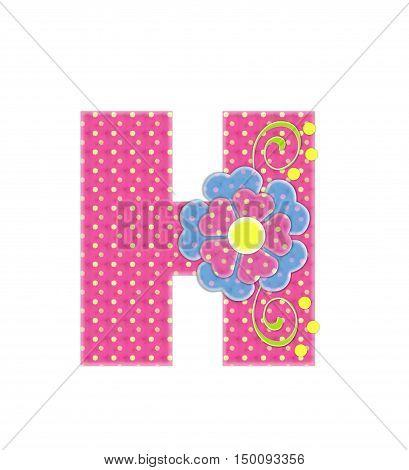 Alphabet Bonita H