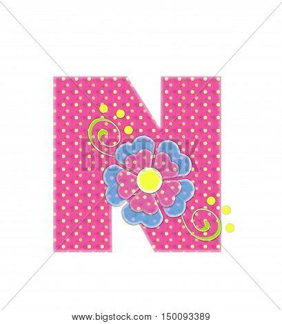 Alphabet Bonita N