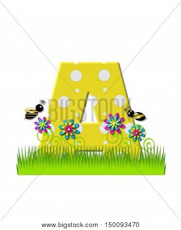 Alphabet Buzzing Bee A