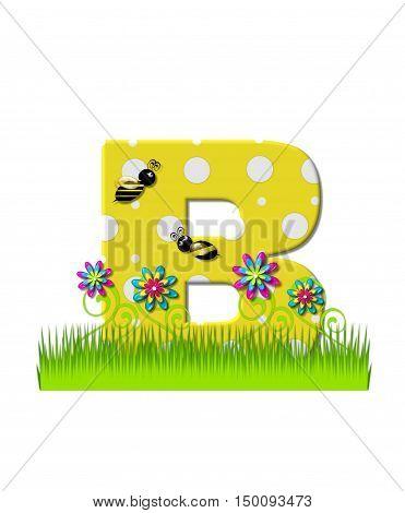 Alphabet Buzzing Bee B