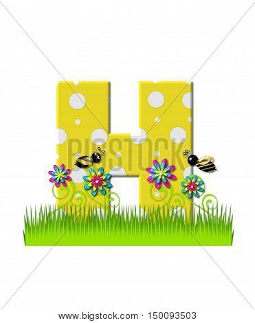 Alphabet Buzzing Bee H