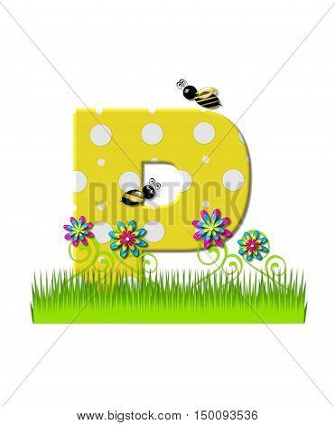 Alphabet Buzzing Bee P