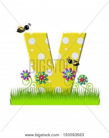 Alphabet Buzzing Bee V