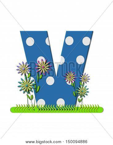 Alphabet Wildflower Meadow V