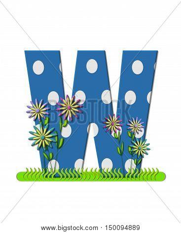 Alphabet Wildflower Meadow W