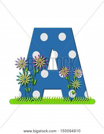 Alphabet Wildflower Meadow A