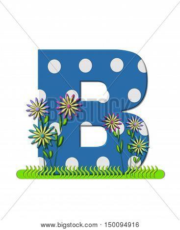 Alphabet Wildflower Meadow B