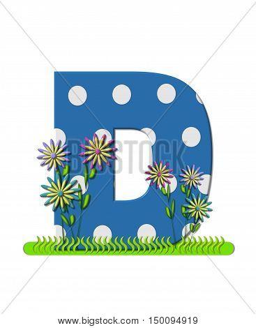 Alphabet Wildflower Meadow D