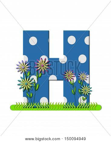 Alphabet Wildflower Meadow H
