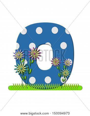 Alphabet Wildflower Meadow O