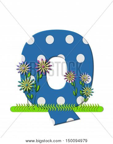 Alphabet Wildflower Meadow Q