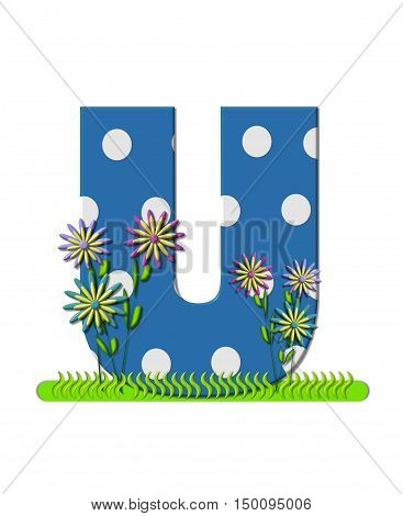 Alphabet Wildflower Meadow U
