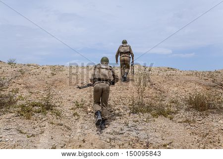 Soviet paratroopers in Afghanistan during the Soviet Afghan War